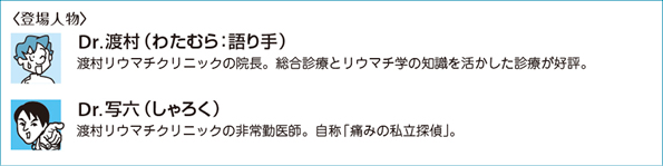 膝痛の証明 パート2[痛み探偵の事件簿(3)]|Web医事新報|日本医事 ...